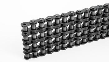 Цепи приводные роликовые четырехрядные ГОСТ 13568-97
