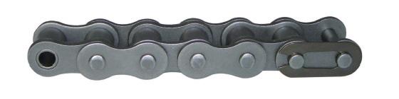Цепи ISO 606-94, DIN 8187-1 однорядные серии B