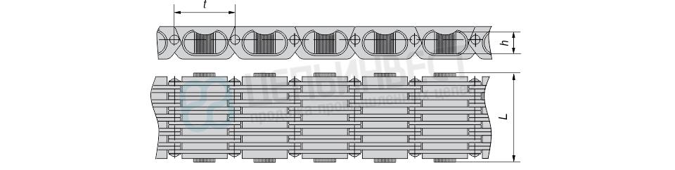 Цепи вариаторные тип ВЦ ГОСТ 10819-75