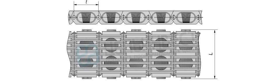 Цепи вариаторные тип А ГОСТ 10819-75