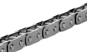 Роликовые цепи с прямым контуром пластин